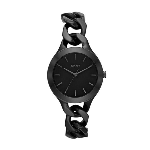 Czarny zegarek DKNY, cena