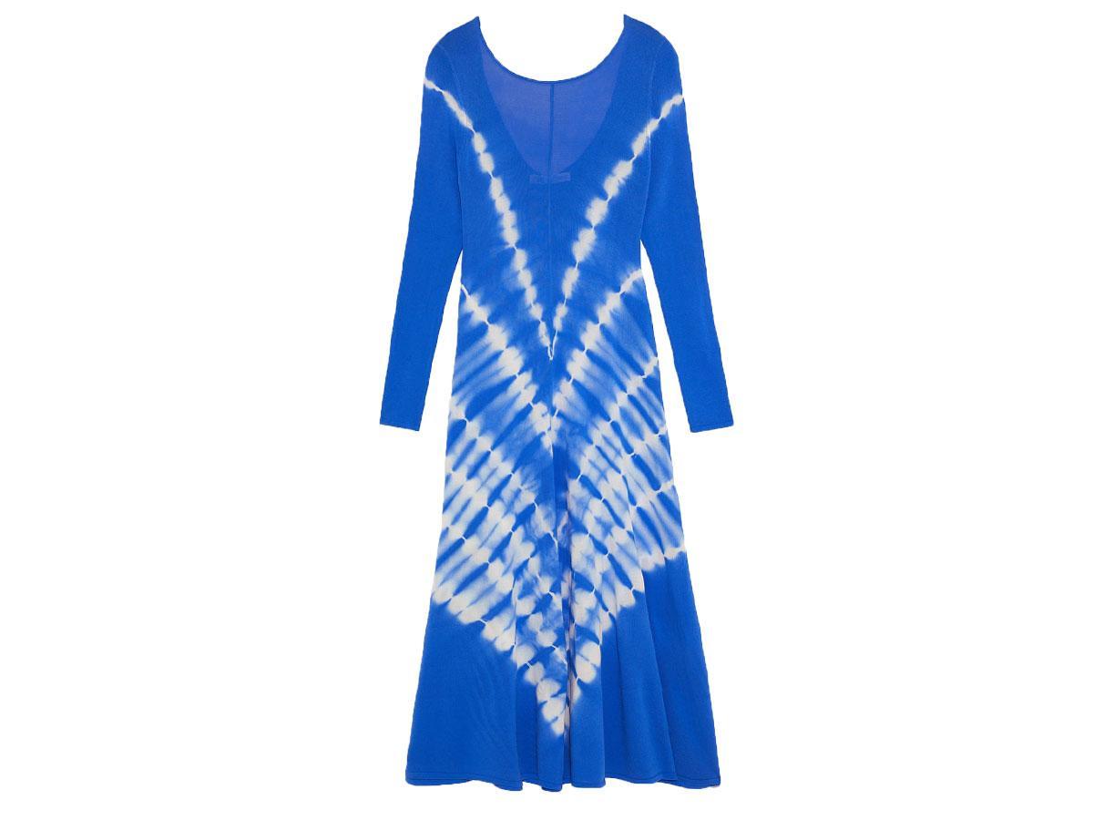 Sukienka z nadrukiem tie dye, Zara, cena ok. 199,00 zł
