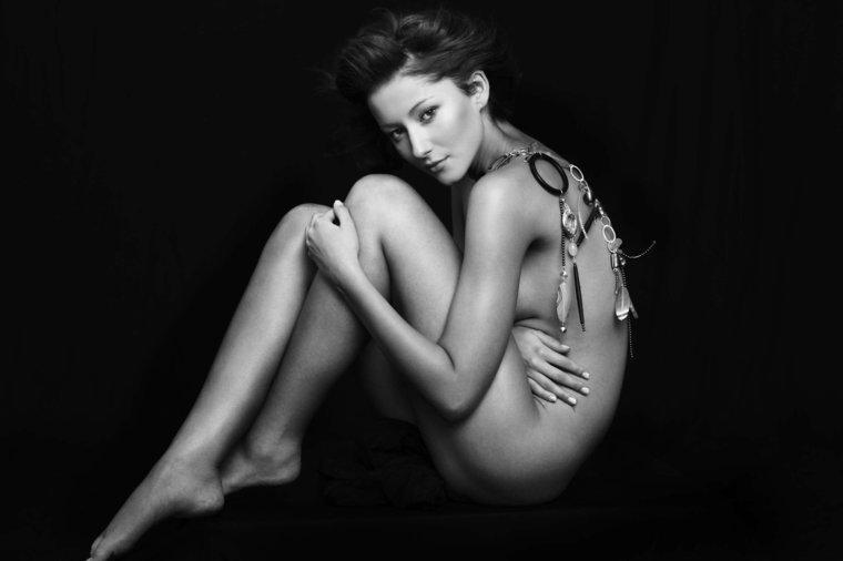 Nagie modelki w Top Model - galeria
