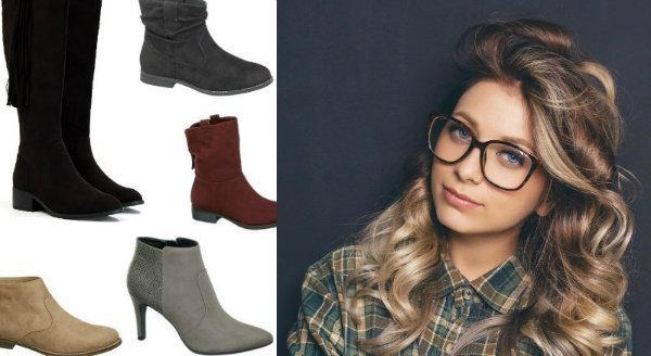Najładniejsze zamszowe buty na jesień 2015