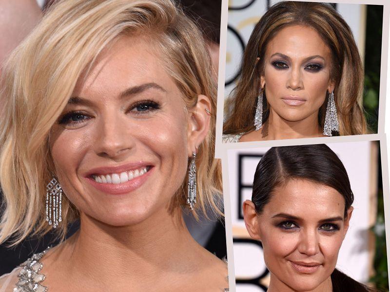 Złote Globy 2015 - makijaże i fryzury