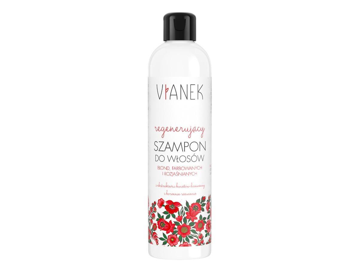 Regenerujący szampon do blond włosów Vianek, cena 17,99 zł