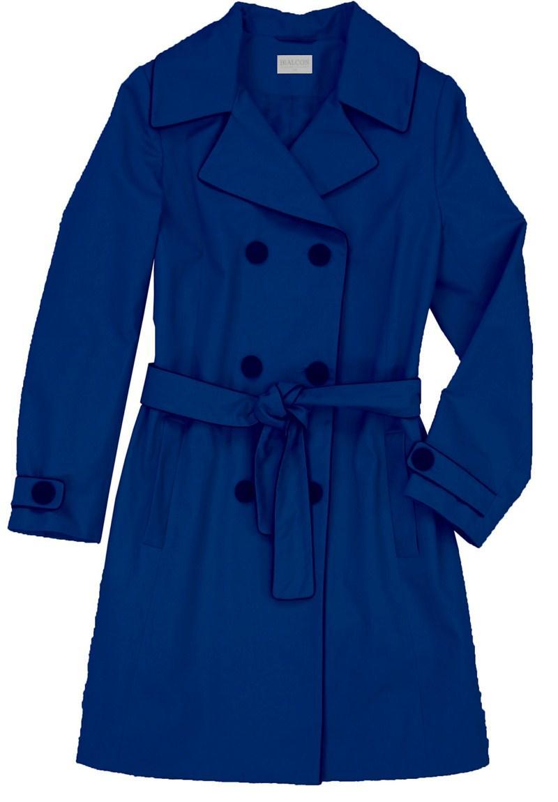 granatowy płaszcz Bialcon - wiosenna kolekcja
