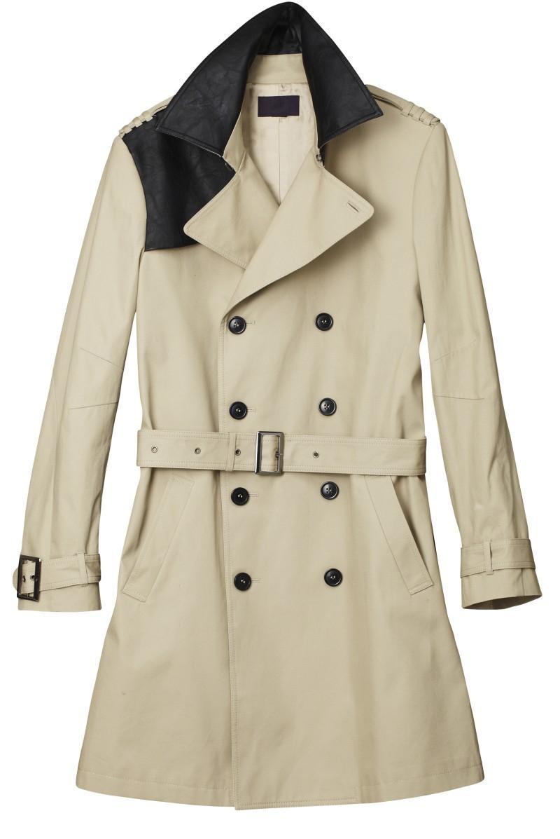 beżowy płaszcz H&M - wiosna 2011
