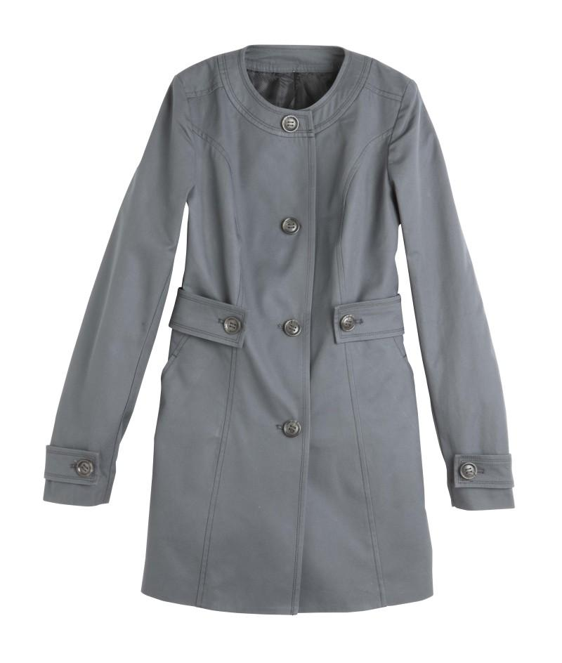 popielaty płaszcz Camaieu - kolekcja wiosenna
