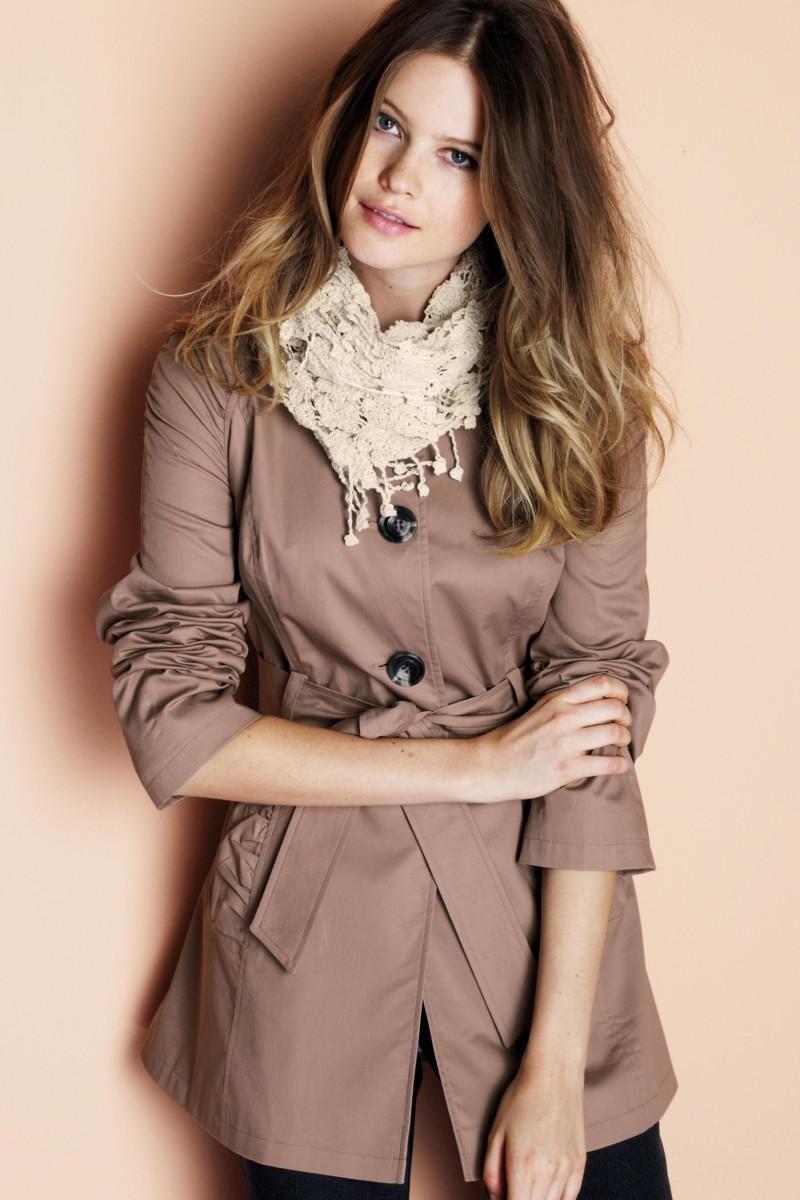 brązowy płaszczyk Next - kolekcja wiosenno/letnia
