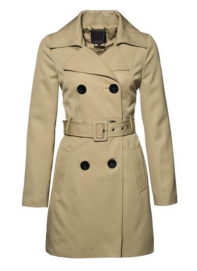 beżowy płaszcz New Yorker - wiosna 2011