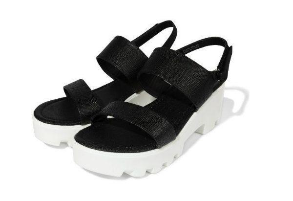 Sandały na koturnie, Sinsay, cena: 59,99 zł