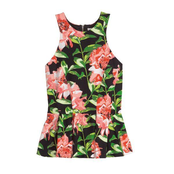Top w kwiaty H&M, cena