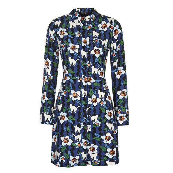 Sukienka w kwiaty Topshop, cena