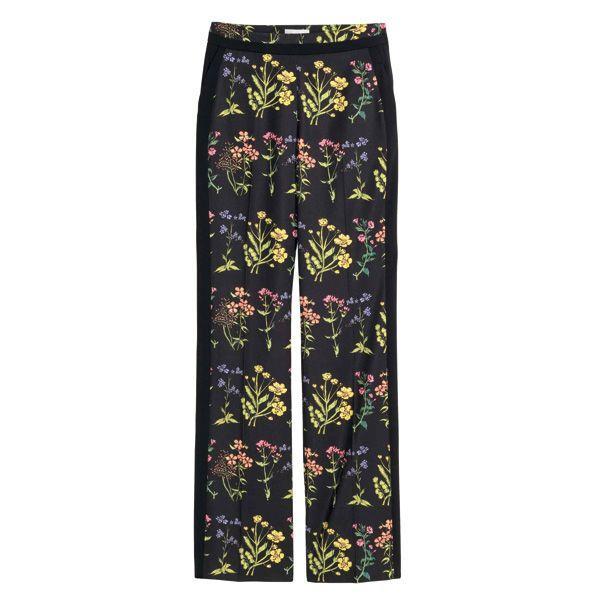 Spodnie w kwiaty H&M, cena