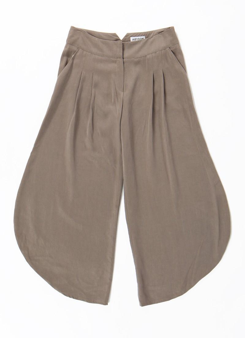 brązowe spodnie Aryton - z kolekcji wiosna-lato 2011