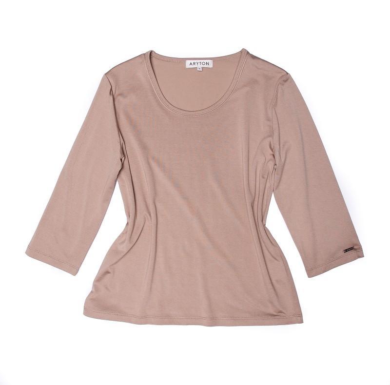 brązowa bluzka Aryton - trendy wiosna-lato