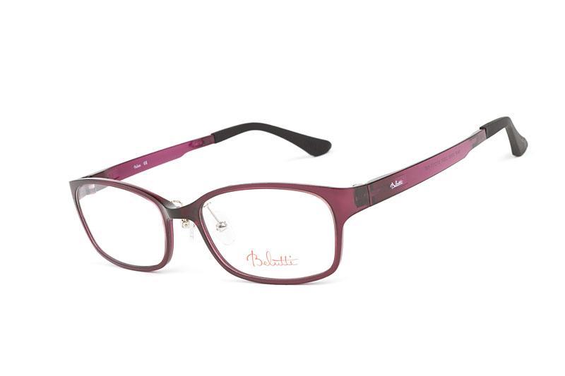 okulary Belutti w kolorze śliwkowym
