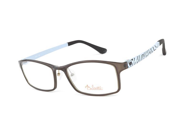 błękitno-brązowe okulary Belutti