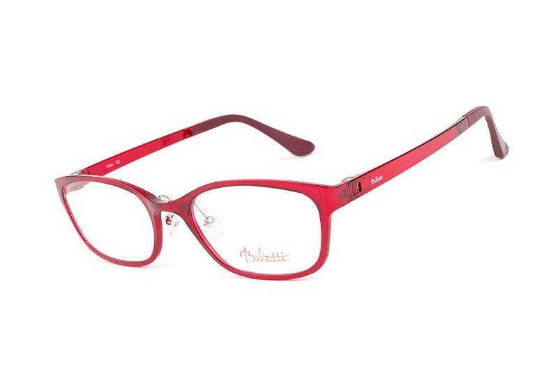 okulary Belutti w kolorze czerwonym