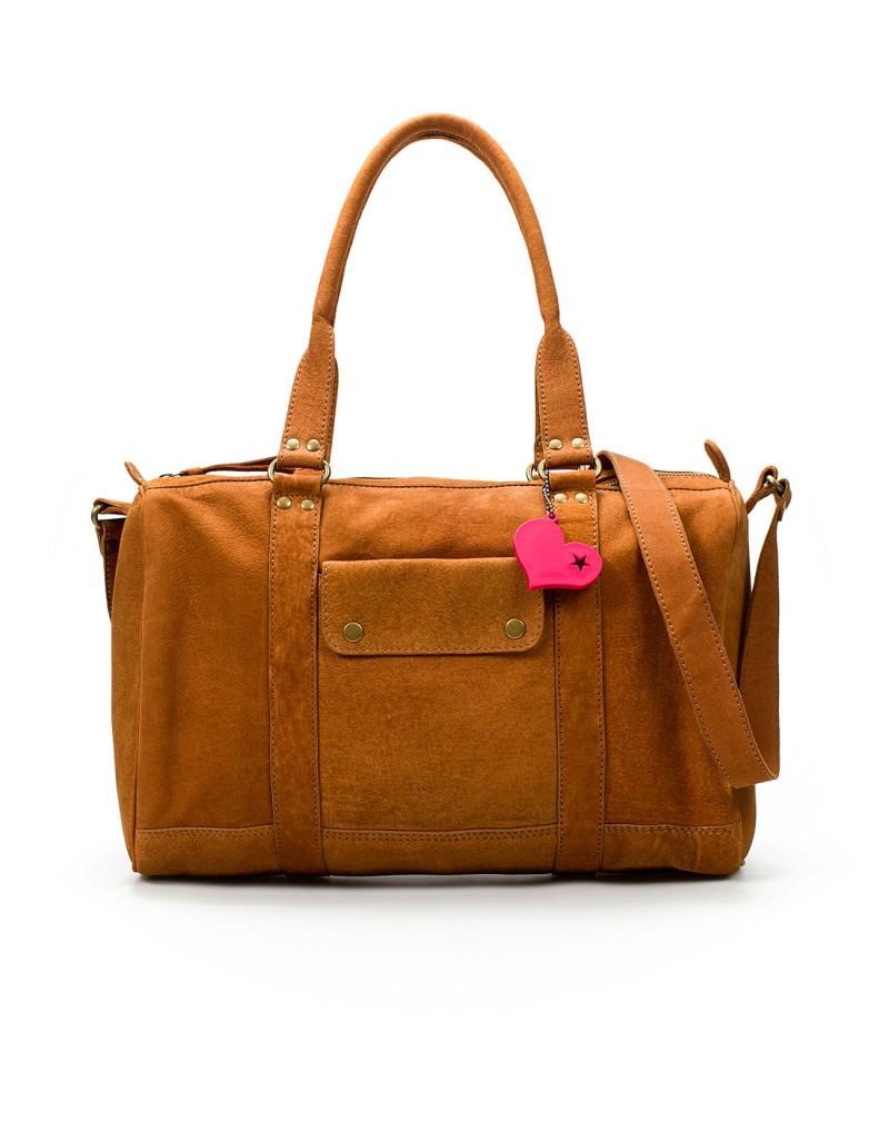 brązowa torebka ZARA - moda 2011