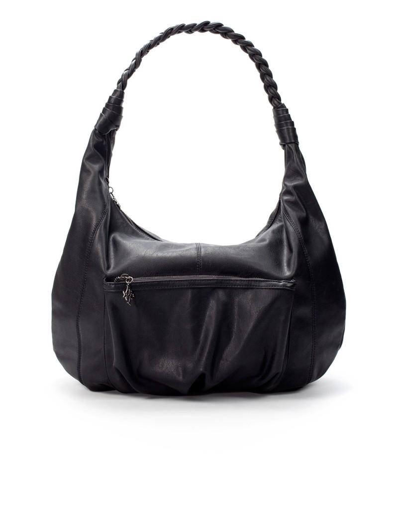 czarna torebka ZARA - moda 2011