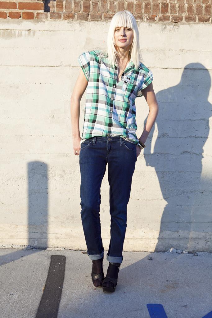 granatowe dżinsy Lee - kolekcja wiosenno/letnia