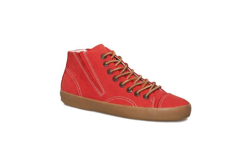 czerwone tenisówki Vagabond - moda wiosna/lato