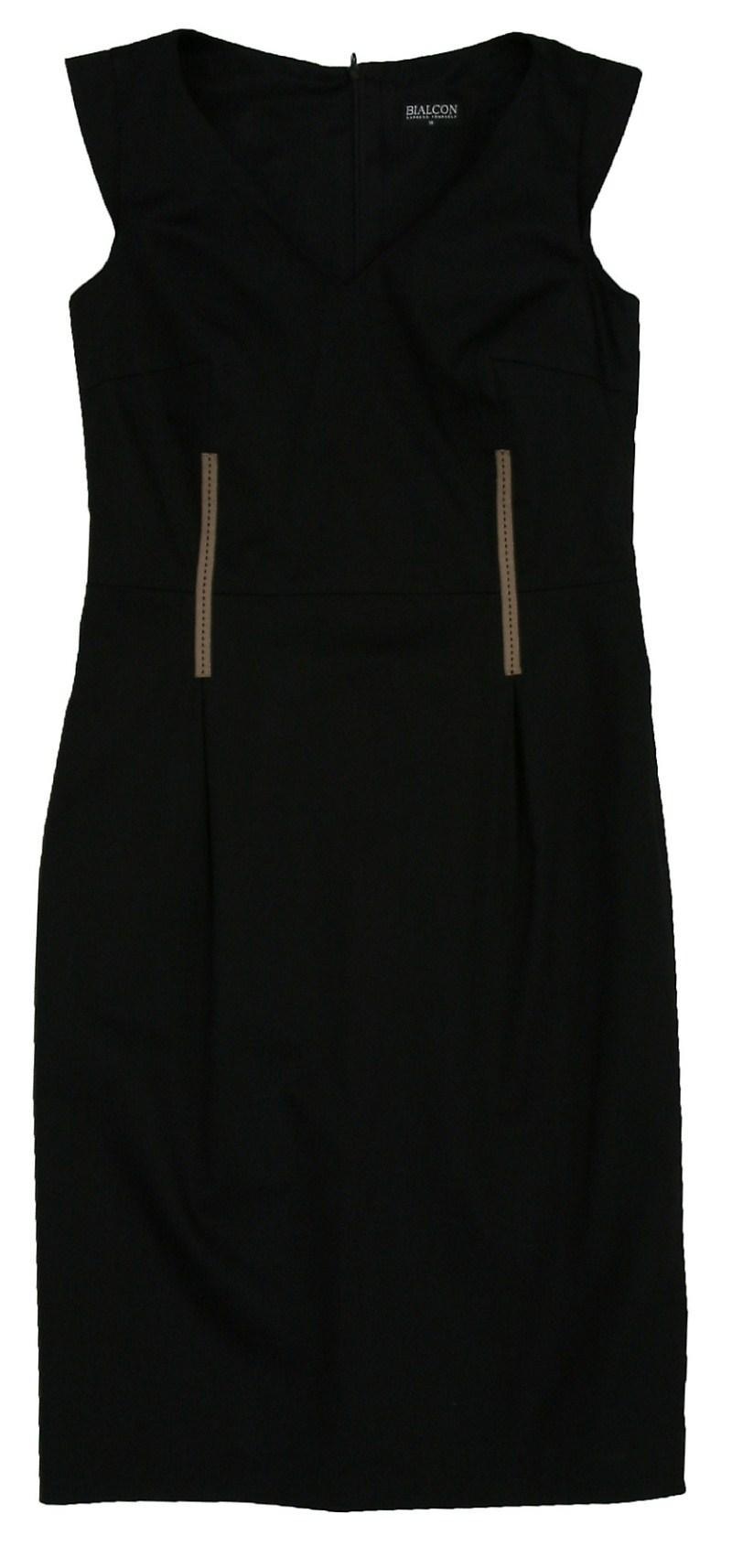 czarna sukienka Bialcon - wiosna-lato 2011