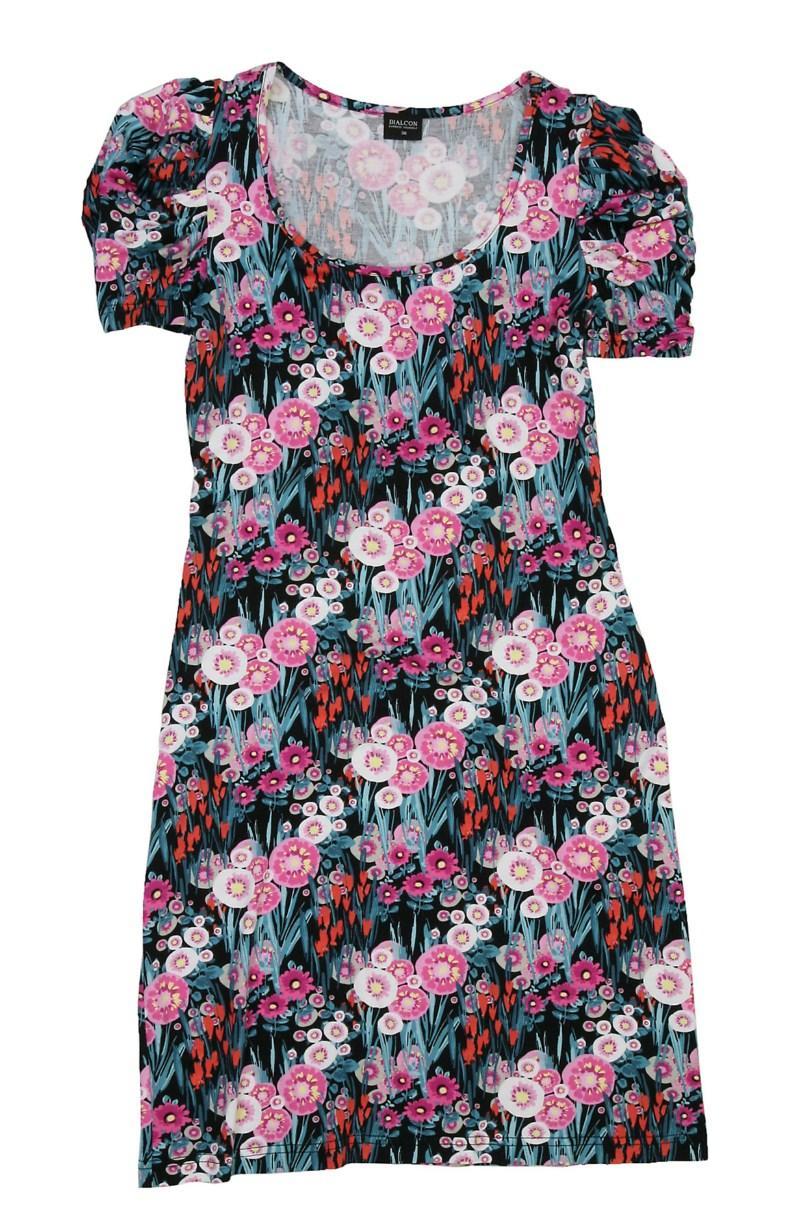 sukienka Bialcon w kwiaty - letnia kolekcja