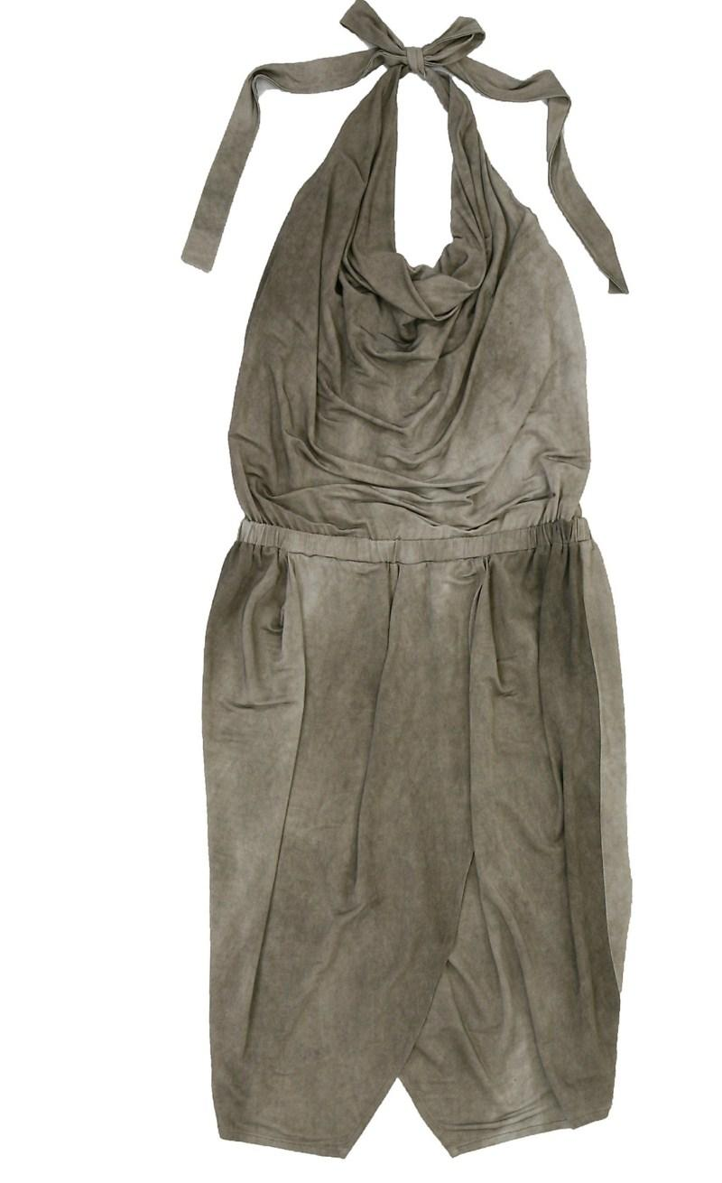 popielata sukienka Bialcon - letnia kolekcja