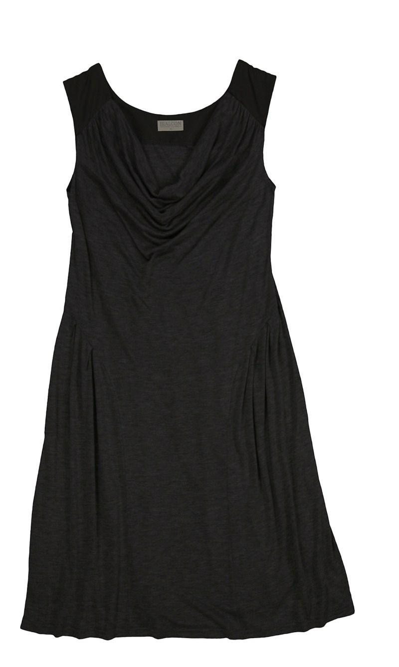 czarna sukienka Bialcon - moda wiosna/lato
