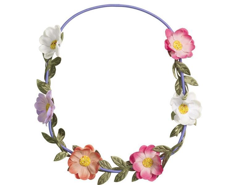 Opaska z kwiatów, H&M, cena: ok 20 zł