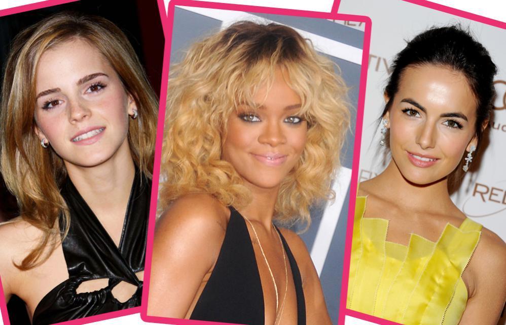 Emma Watson, Rihanna, Camilla Belle