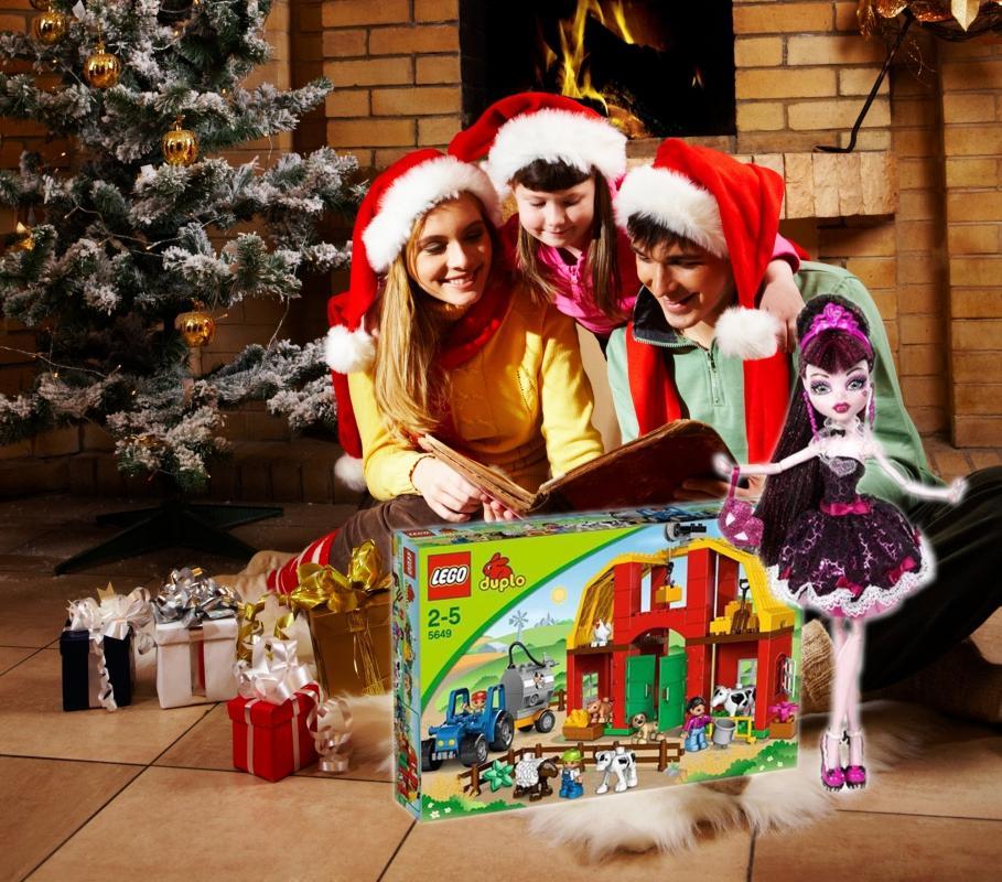 rodzina podczas świąt
