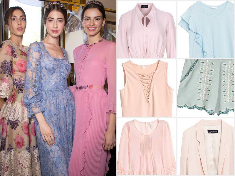c906f14770 Pastelowe ubrania lato 2016 - Moda lato 2016 - Trendy sezonu ...