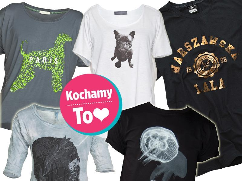 77d506822 Koszulki z nadrukami - Trendy sezonu - Wybór redakcji - Trendy ...