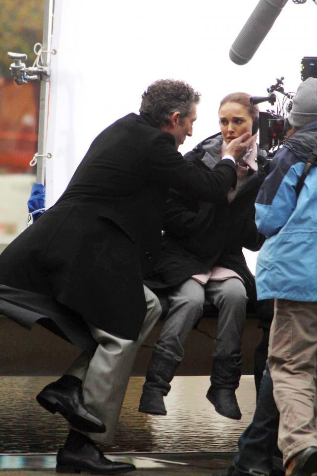 Natalie Portman i Vincent Cassel.