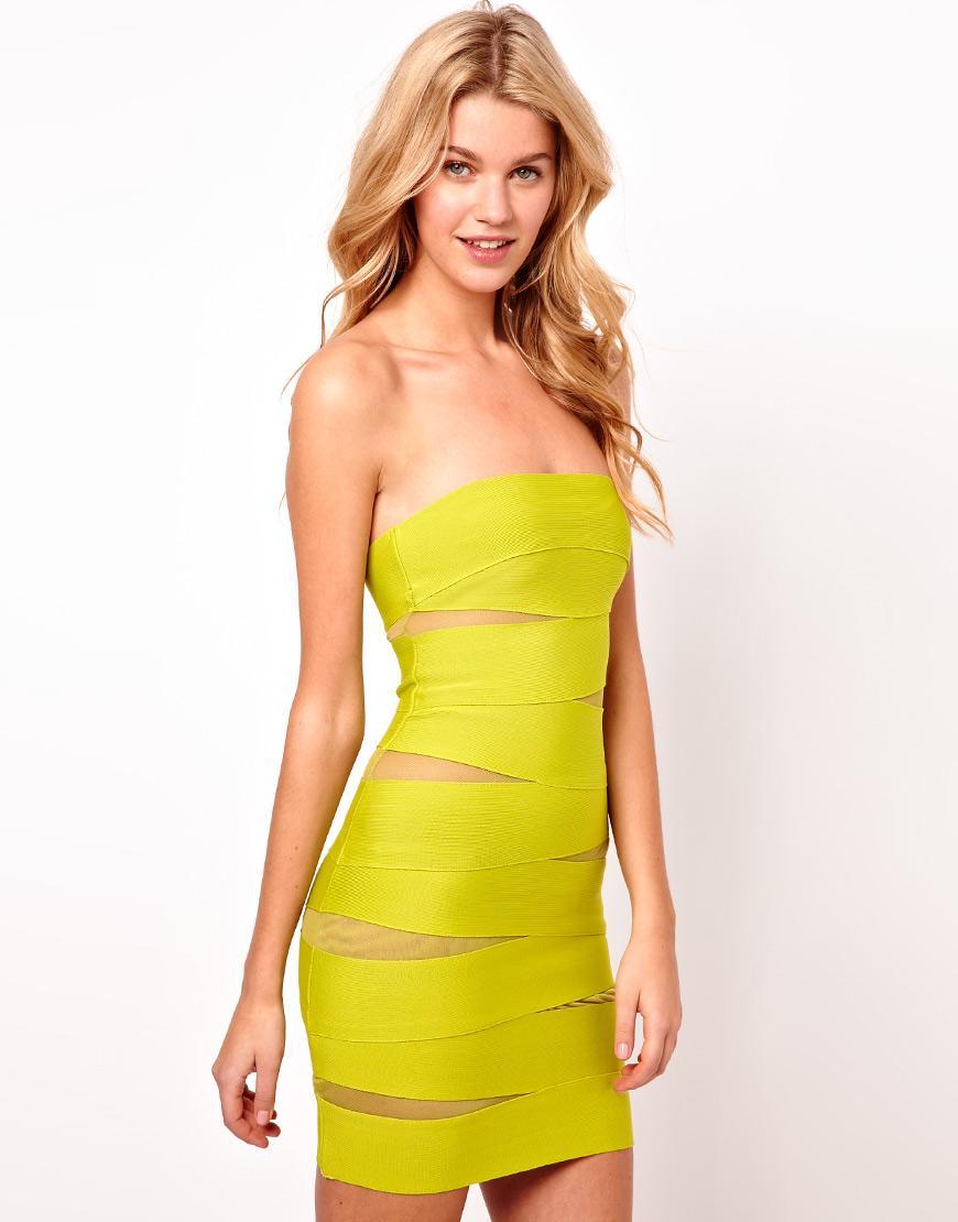 d64aac8210 Neonowe ubrania i dodatki - przebój wiosny 2013! żółta sukienka Asos - neony