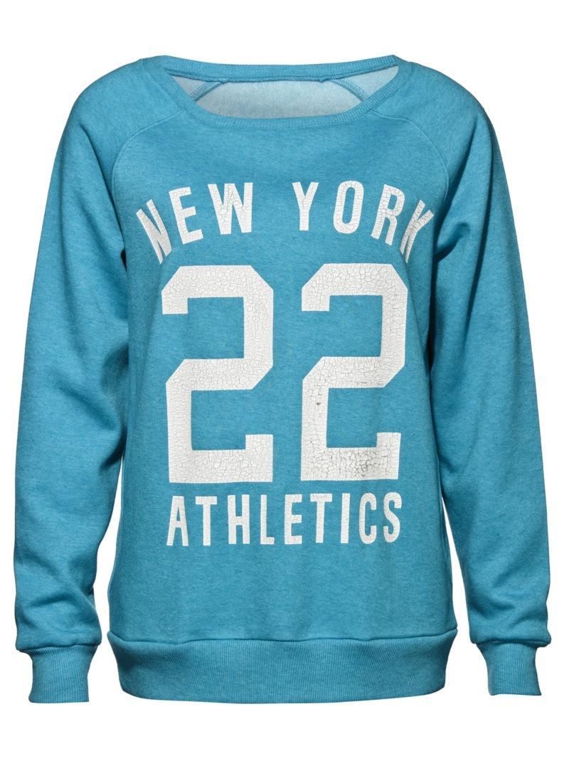 niebieska bluza New Yorker - jesień/zima 2010/2011