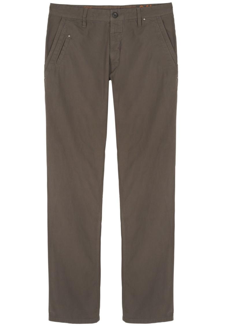 brązowe spodnie Next - moda zimowa