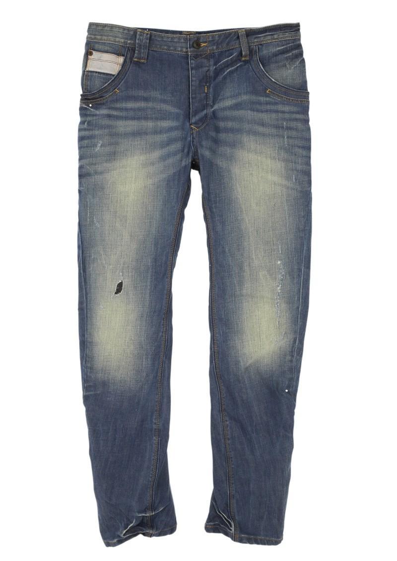niebieskie dżinsy Next - moda zimowa