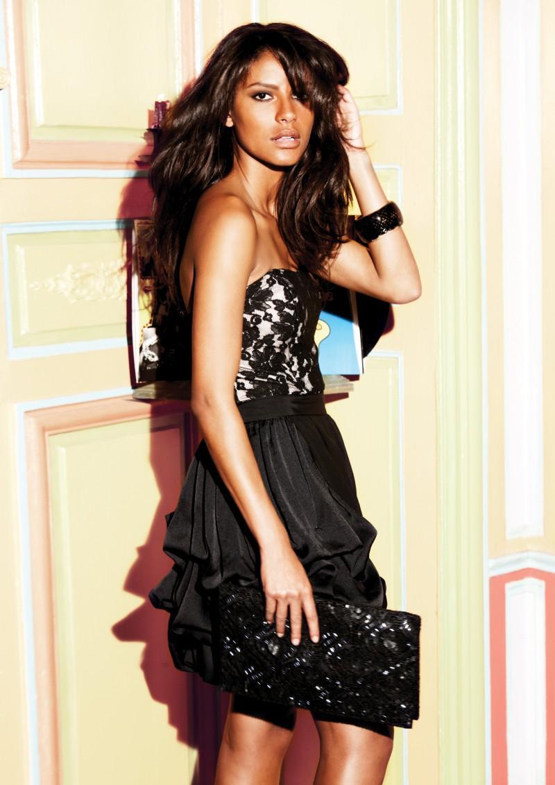 czarna sukienka Next - kolekcja zimowa