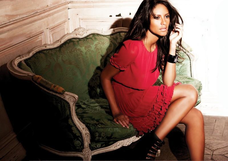 czerwona sukienka Next - moda 2010