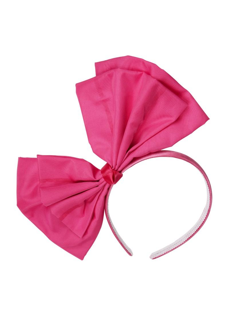 różowa opaska Next - moda zimowa