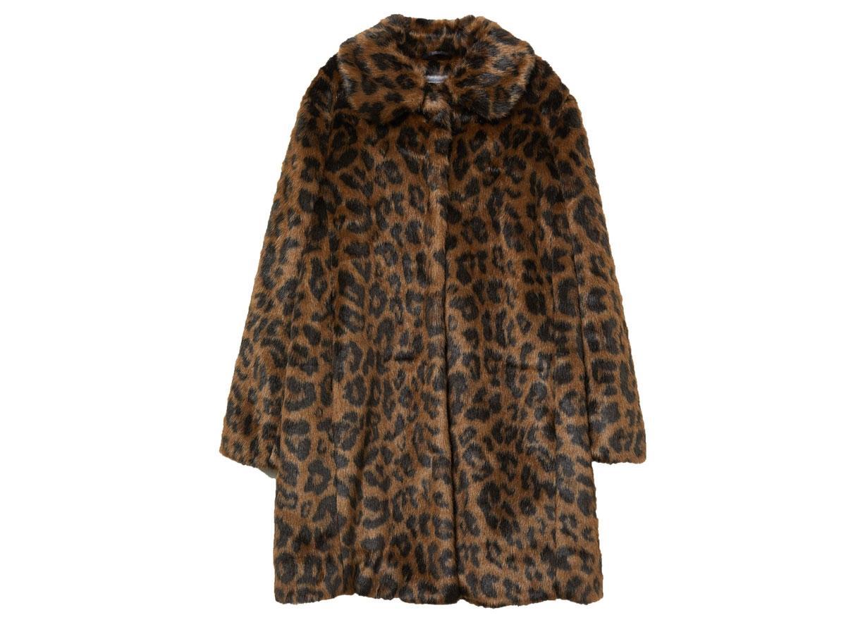 Płaszcz z imitacji futra, H&M, cena ok. 399,00 zł