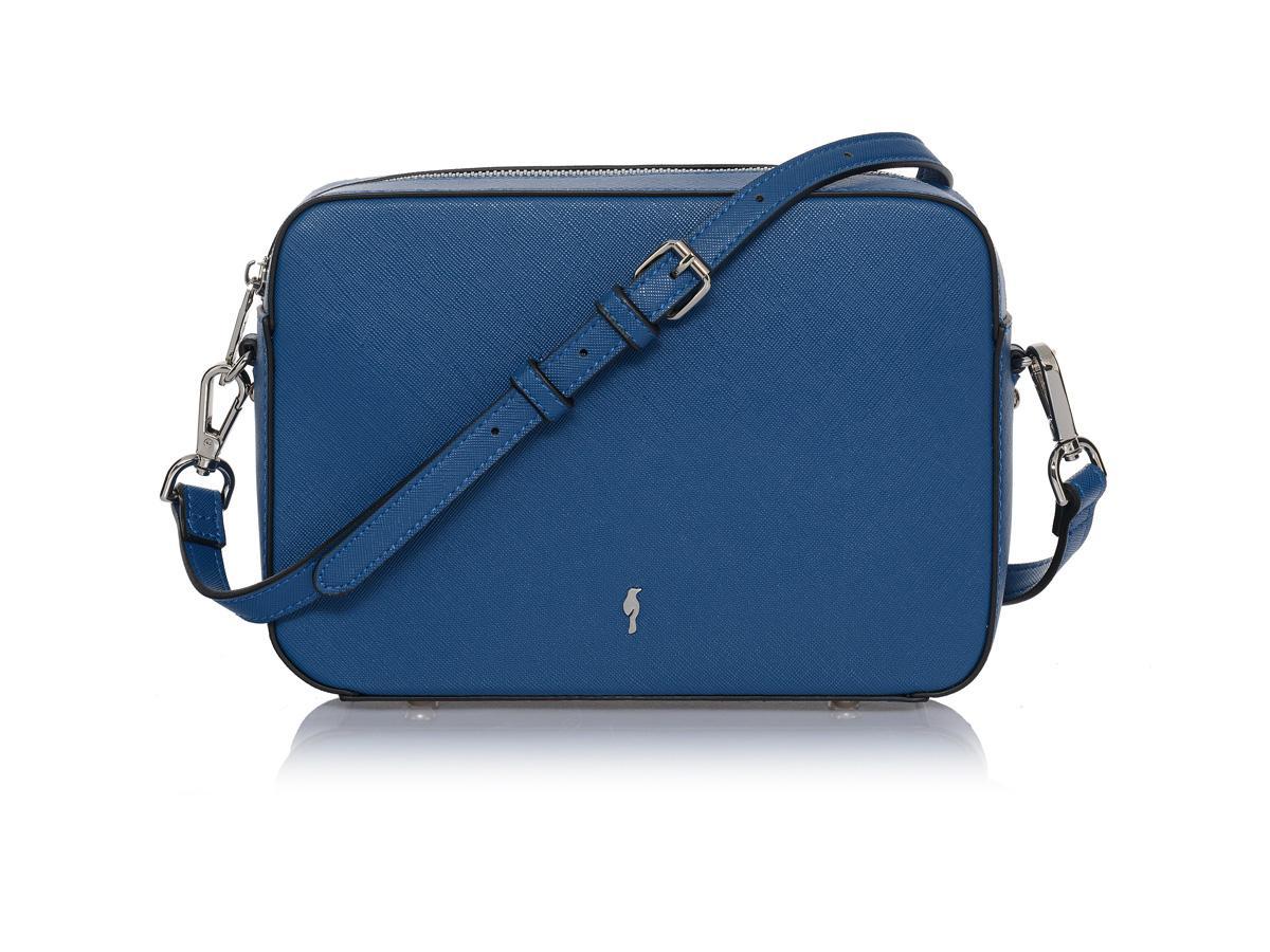 niebieska torebka Ochnik