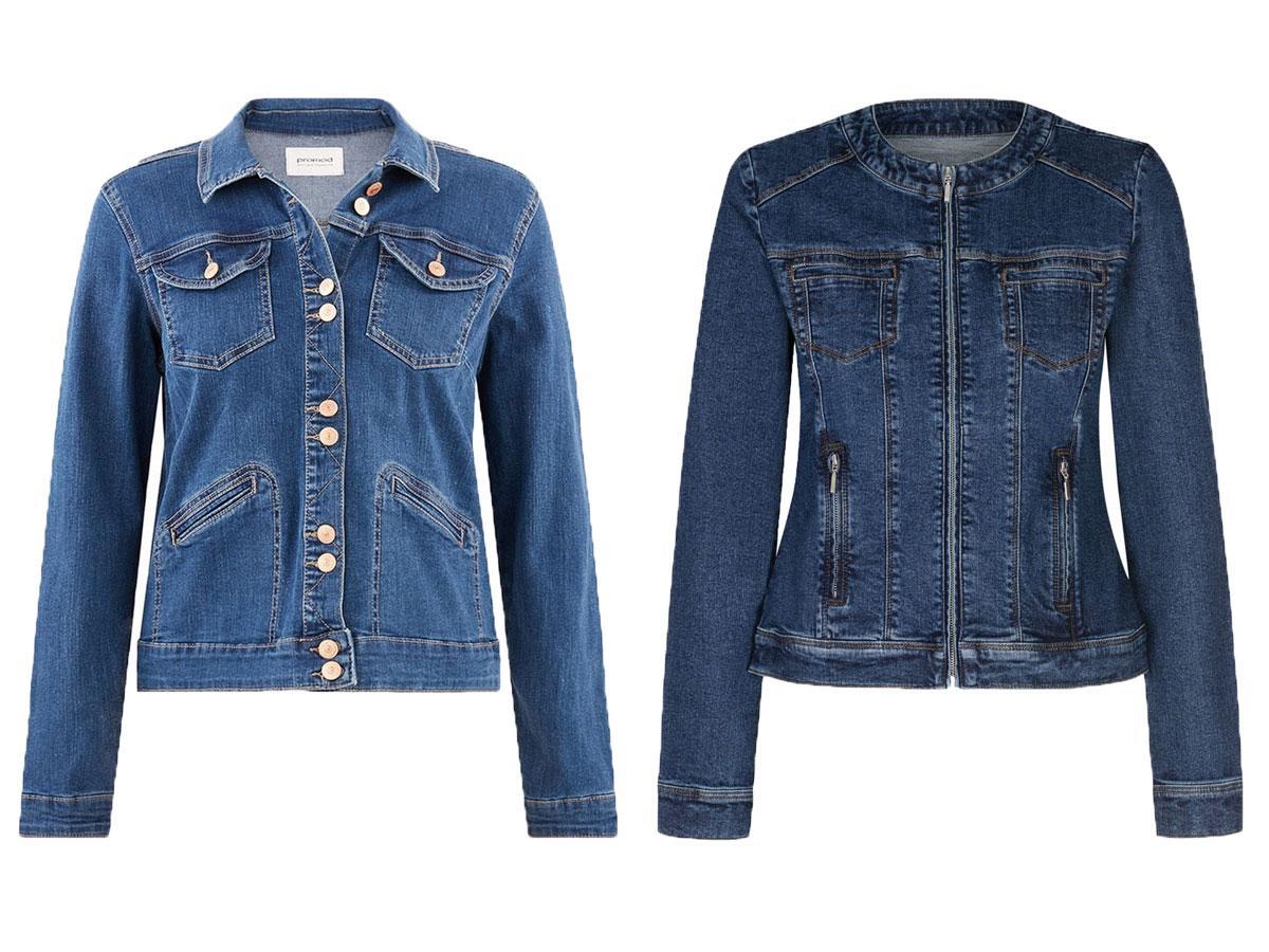 Niebieskie kurtki dżinsowe - modele z sieciówek