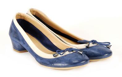 niebieskie pantofle Venezia - wiosna 2011