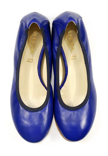 niebieskie baleriny Venezia - z kolekcji wiosna-lato 2011