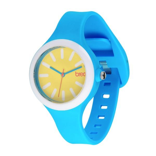 Niebiesko- żółty zegarek Breo