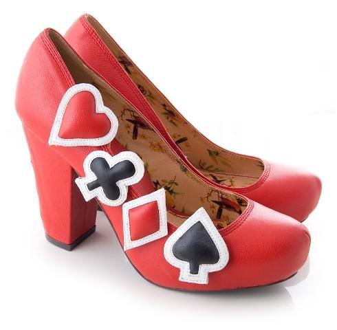 Niepowtarzalne buty na karnawał 2011