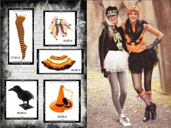 Niesamowite stylizacje na Halloween