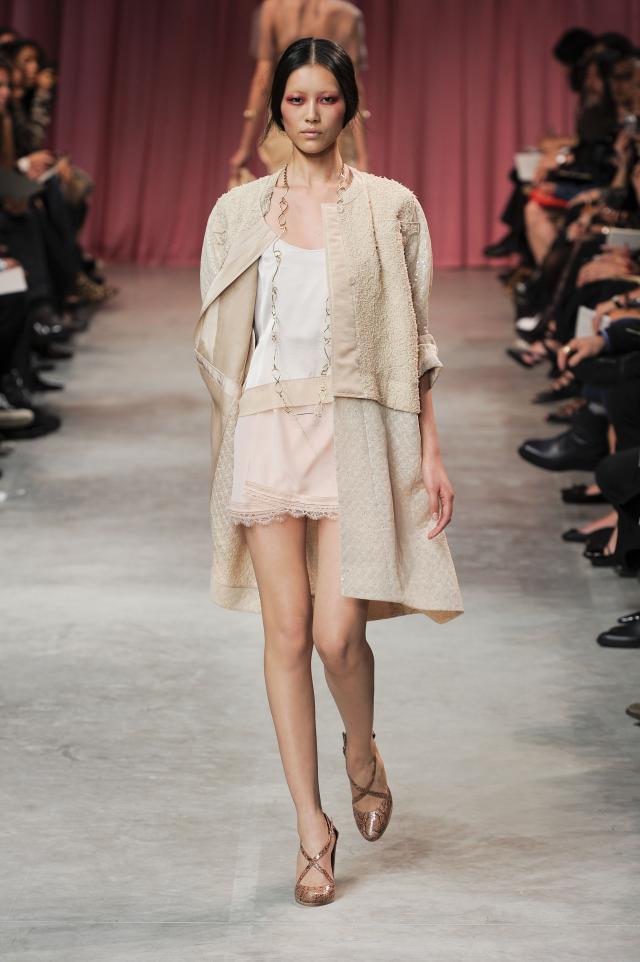 Nina Ricci, kolekcje wiosna/lato 2011, pokaz mody wiosna/lato 2011